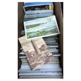 Large Box of Vintage Postcards