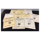 Oliver Tractor Parts Books