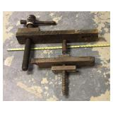 Vintage Wood Clamps