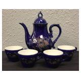 Cobalt Blue Tea Set