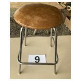Padded Swivel stool