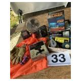 Sump pump/sodering gun/Cal-Hawk spray gun Misc