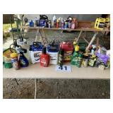 Pump srayers and misc yard chemicals