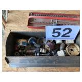 Tool box w/drill bits and cutters