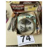 Miter box and misc size saw blades