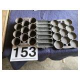 Cast iron baking dishes (3)