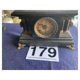 Clock with Key  Manf.  E. Ingraham,   Bristol Conn