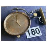 Walling dbl sidded clock Bombay