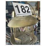 Hendryx Brass Bird Cage w/stand