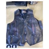 Large size Mas Leather Jacket