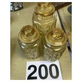 canister set (3) Piece