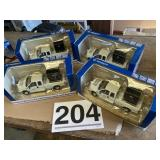 (4) F 250 delivery trucks metal new in box