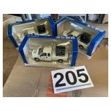 (3) F 250 delivery trucks metal new in box
