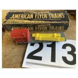 American flyer trains Flatbed Metal car