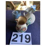 (3) Pottery pieces no name marked