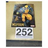 Metal Marvel Wolverine sign