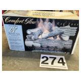 "Comfort Glow 24"" Gas Logs"