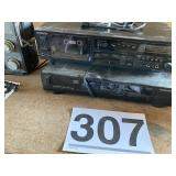 Sony Cassette player Magnavox Disc Player