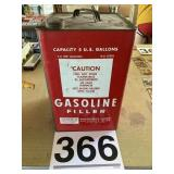 Old style gas can