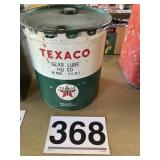 Vintage Texaco Can