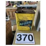 Vintage Imperial tin can