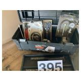 Tool box w/misc tools