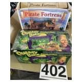 Queasy bake cookerator,Pirate Fortress (incompel)