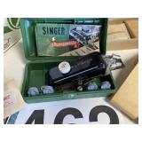 Singer Buttonholer and sewing misc.