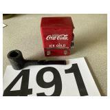Coke tooth pick dipenser, Vintage vaping  device