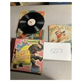 Kids record and book