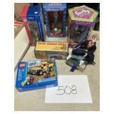 PCH Bank, Lego truck, Bobbleheads