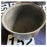 Cast iron pot no lid no name