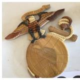 Marine Corps Emblem Wooden