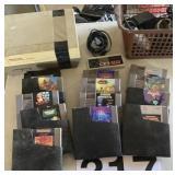 Nintendo Entertainment System w/games