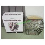 WINE BOTTLE BARREL RACK