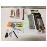 WATCH BAND LOT WITH REPAIR KIT