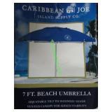 CARIBBEAN JOE BEACH UMBRELLA