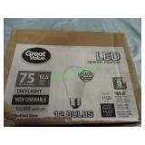 GREAT VALUE LED LIGHT BULBS