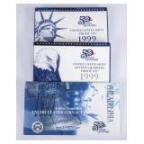 US Mint 50 State Quarters Proof Set 1999 + US Mint