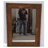 Rustic Bark Framed Wall Mirror