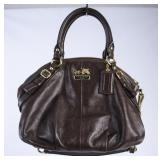 Coach Brown Leather Hand Bag