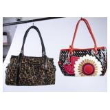 2 Numbered Brighton Hand Bags