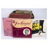 33 1/3 & 78 RPM Vinyl Record Variety Lot