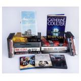 Fiction Novel & Movie Variety Lot