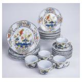 Set of Ceramic Dishes Made in Italy