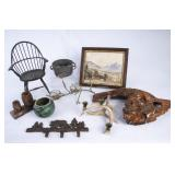 Lot of Nice Rustic Home Decor Items