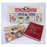 Monopoly Game & 2 Children