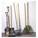 Lot of Various Yard Tools