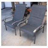 2 Tropitone Reclining Chairs w/2 Stools