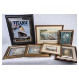 Titanic Reproduction Print + Lithographs & More
